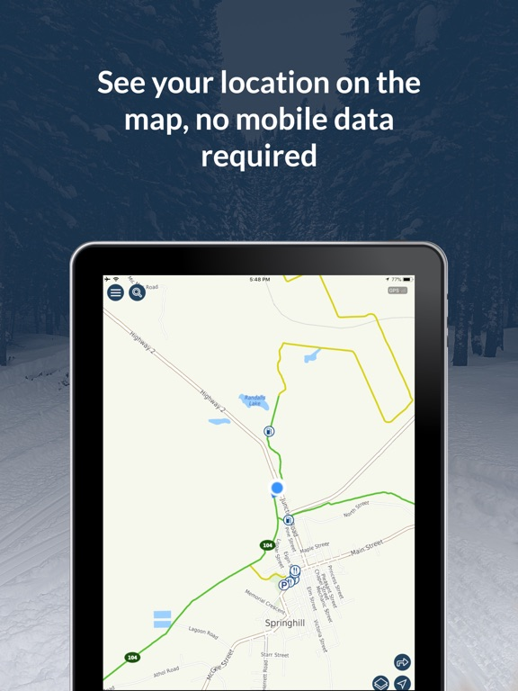 GoSnowmobiling SANS 2020-2021 screenshot 7