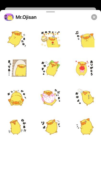 Mr. Oji_san Stickers