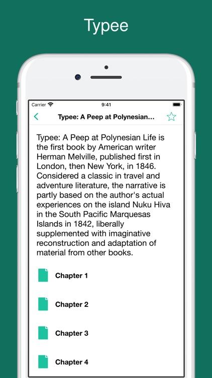 Herman Melville's works screenshot-6