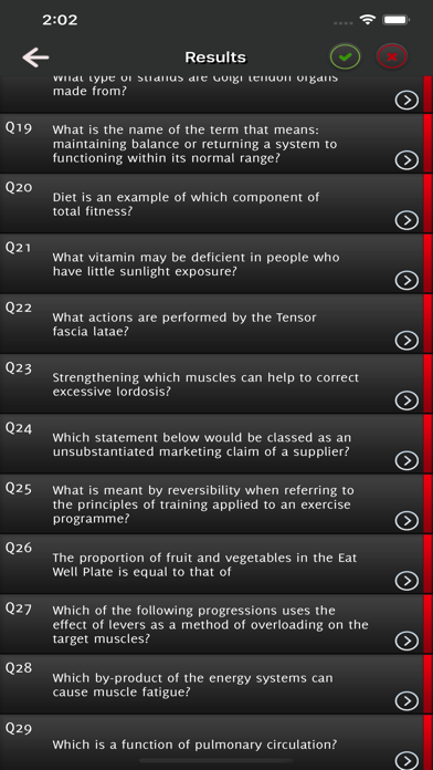 Level 3 Personal Trainer Exam screenshot 5