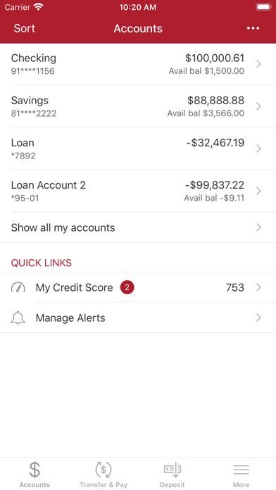 Fitzsimons Credit UnionScreenshot of 3