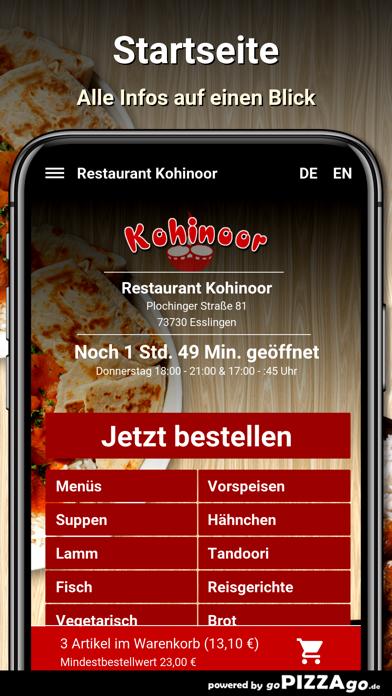 Restaurant Kohinoor Esslingen screenshot 2