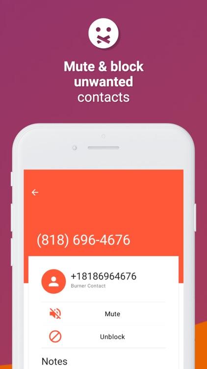 Burner: Text + Call + Message screenshot-4