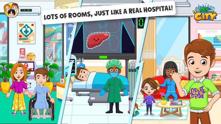 My City : Hospital screenshot-4