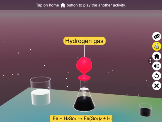 Chemical Reaction: State & Gas screenshot 16