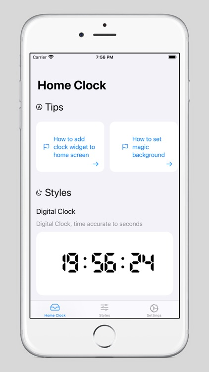 HomeClock - Clock Widgets screenshot-4