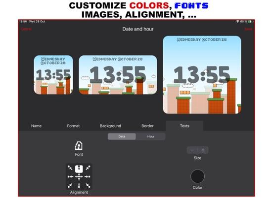 Widget D : Date Time Widgets screenshot 5
