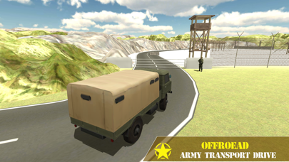 Army Transport Driving Games Screenshot