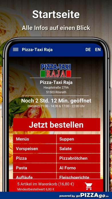 Pizza-Taxi Raja Rösrath screenshot 2