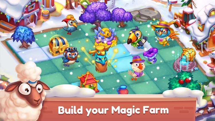 Mingle Farm – Magic Merge Game