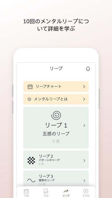 メンタルリープ公式アプリ:ワンダーウィーク screenshot1