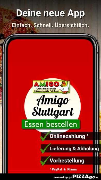 Amigo Pizza Stuttgart screenshot 1