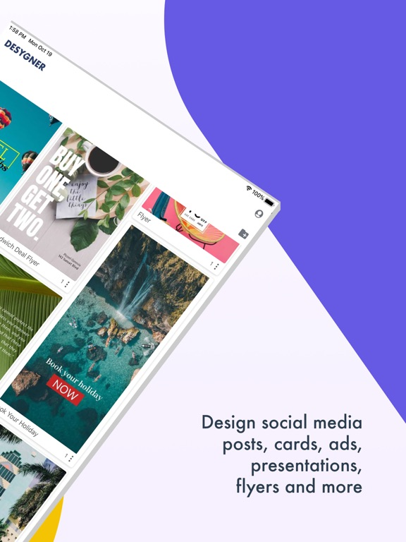 Desygner - Creative Design App & Graphic Maker screenshot