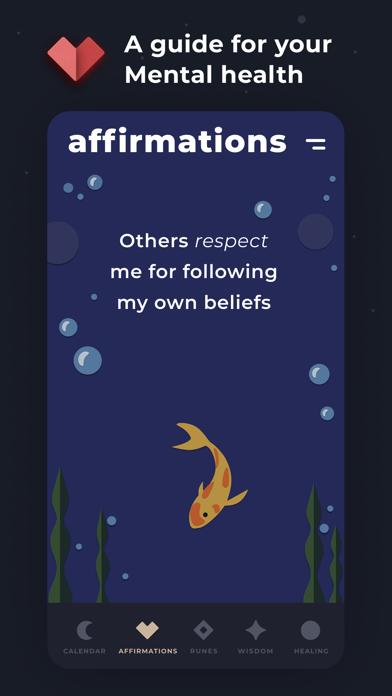Moonly: Moon Calendar & Runes Screenshot