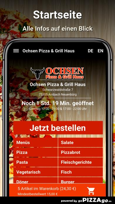 Ochsen Arnbach Neuenbürg screenshot 2
