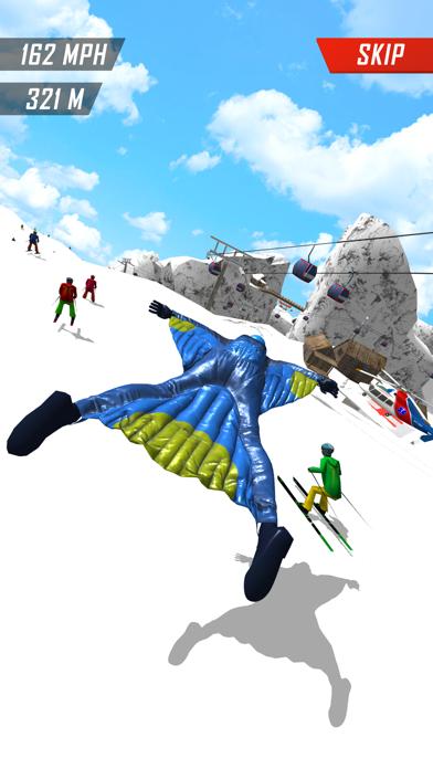 Base Jump Wing Suit Flying screenshot 2