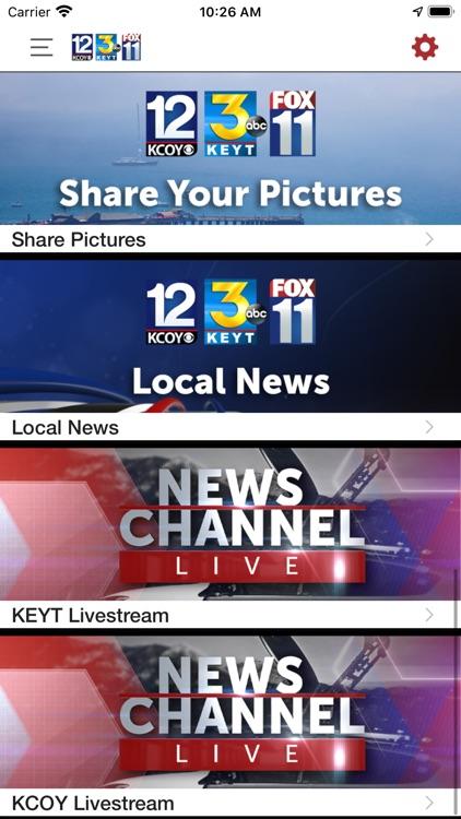 KEYT-KCOY-KKFX First Alert Wx screenshot-3