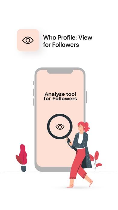 Who profile:View for Followers Screenshot