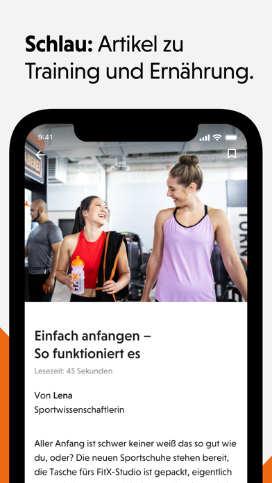 messages.download FitX – Fitness App software