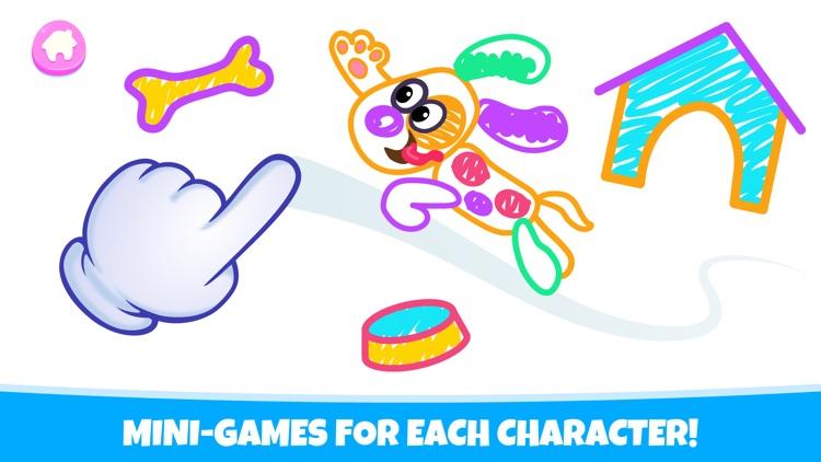 Drawing Pad Kids Toddler Games screenshot-5