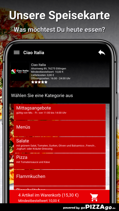 Ciao Italia Ettlingen screenshot 3