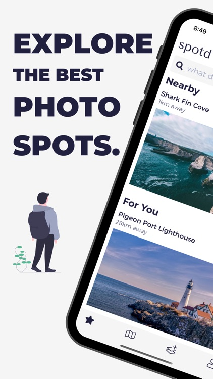 spotd – stunning photo spots