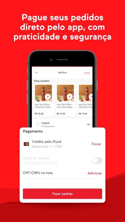 iFood: Delivery de comida screenshot-3