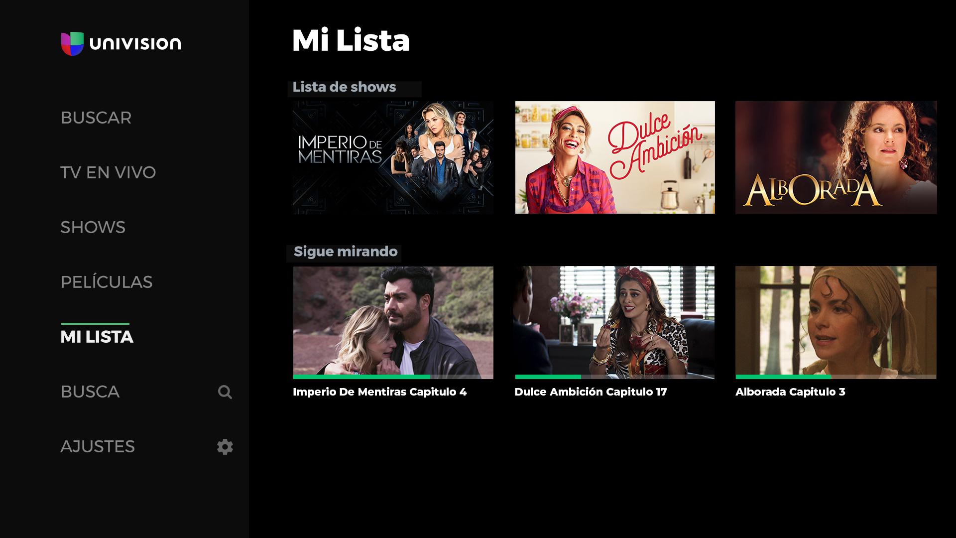 Univision App screenshot 15