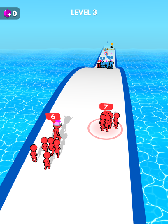 iPad Image of Crowd Battle 3D