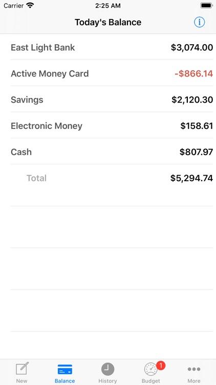 Active Money Pro screenshot-7