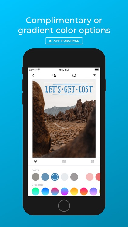 Peel - Add Text to Photos