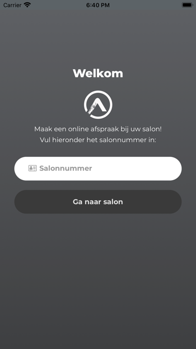 ES Afspraak Screenshot
