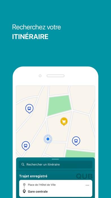 messages.download QUB l'appli software