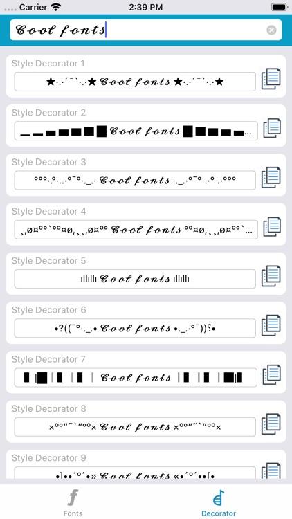 Font Generator - Cool Fonts screenshot-3