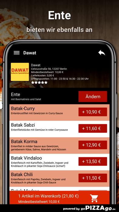 Dawat Berlin Essen screenshot 6