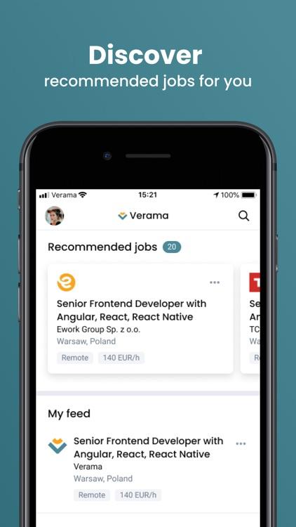Verama - For Service Providers