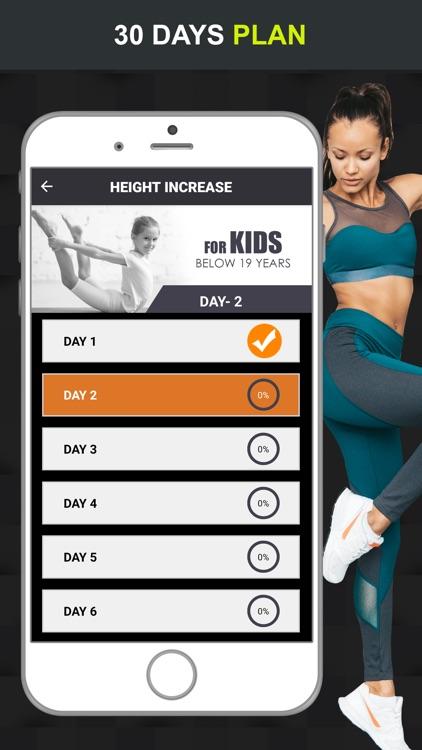 Grow Taller! Home Workouts screenshot-3