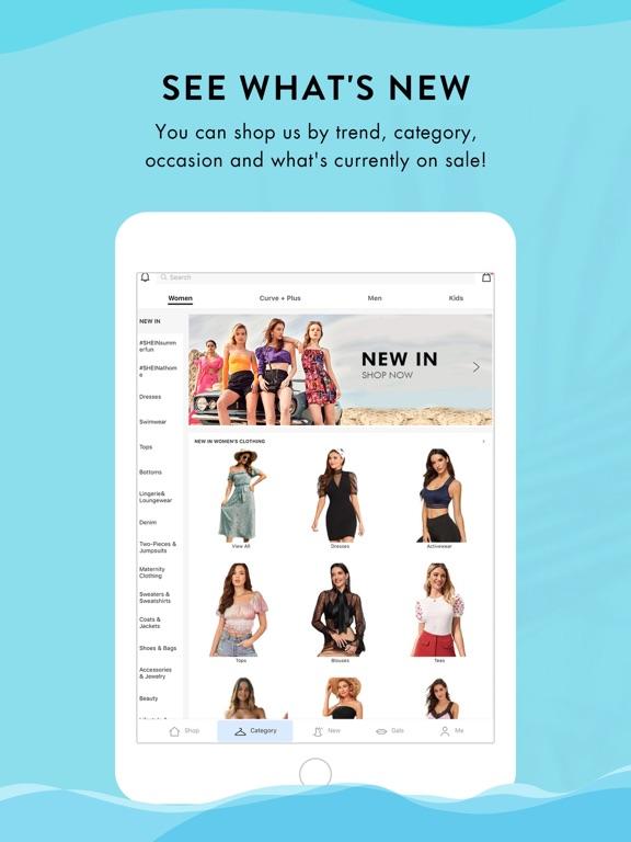 iPad Image of SHEIN-Fashion Shopping Online