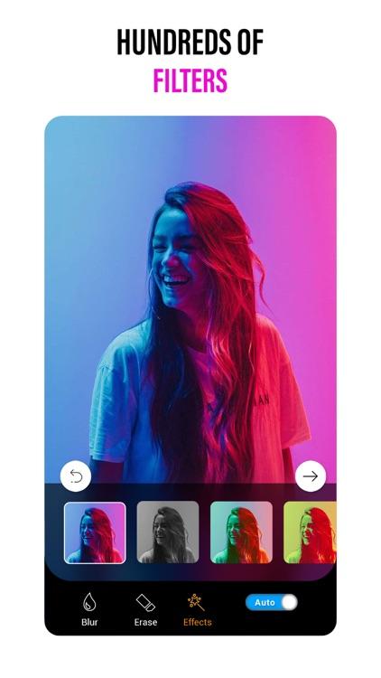 Blurtic Blur Photo Background