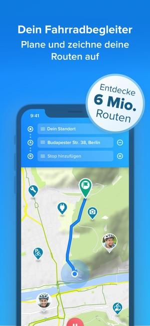 Routenplaner Fahrrad Berlin