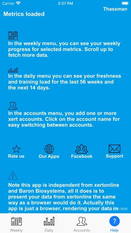 Xert - My metrics screenshot-3