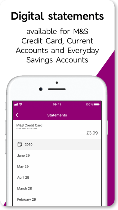 M&S Banking screenshot two