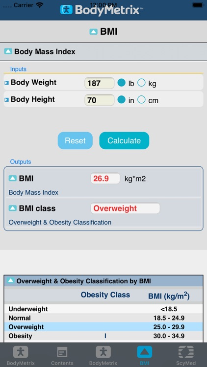 BodyMetrix screenshot-5