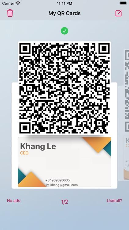 Contactless Business Card screenshot-4