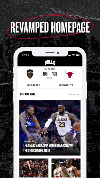 Chicago Bulls screenshot-1