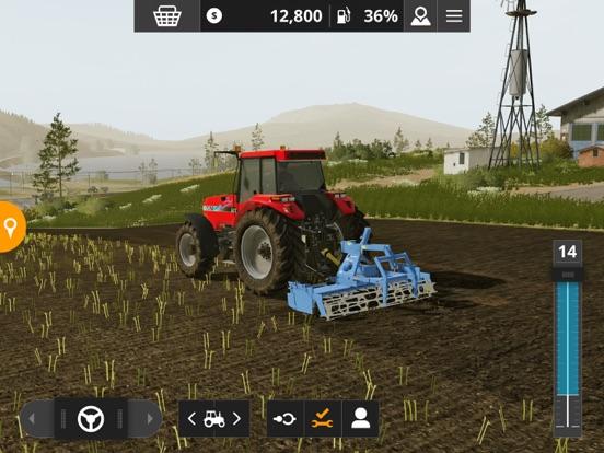 Farming Simulator 20 ipad ekran görüntüleri