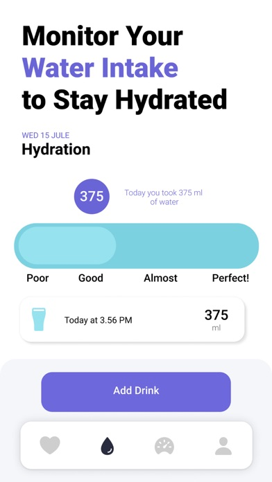 Heart Rate Monitor Track Pulse Screenshot