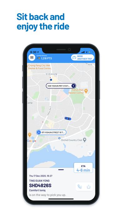 ComfortDelGro Booking Appのおすすめ画像5
