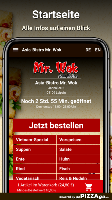 Asia-Bistro Mr. Wok Leipzig screenshot 2