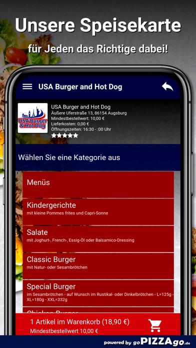 USA Burger Augsburg screenshot 4